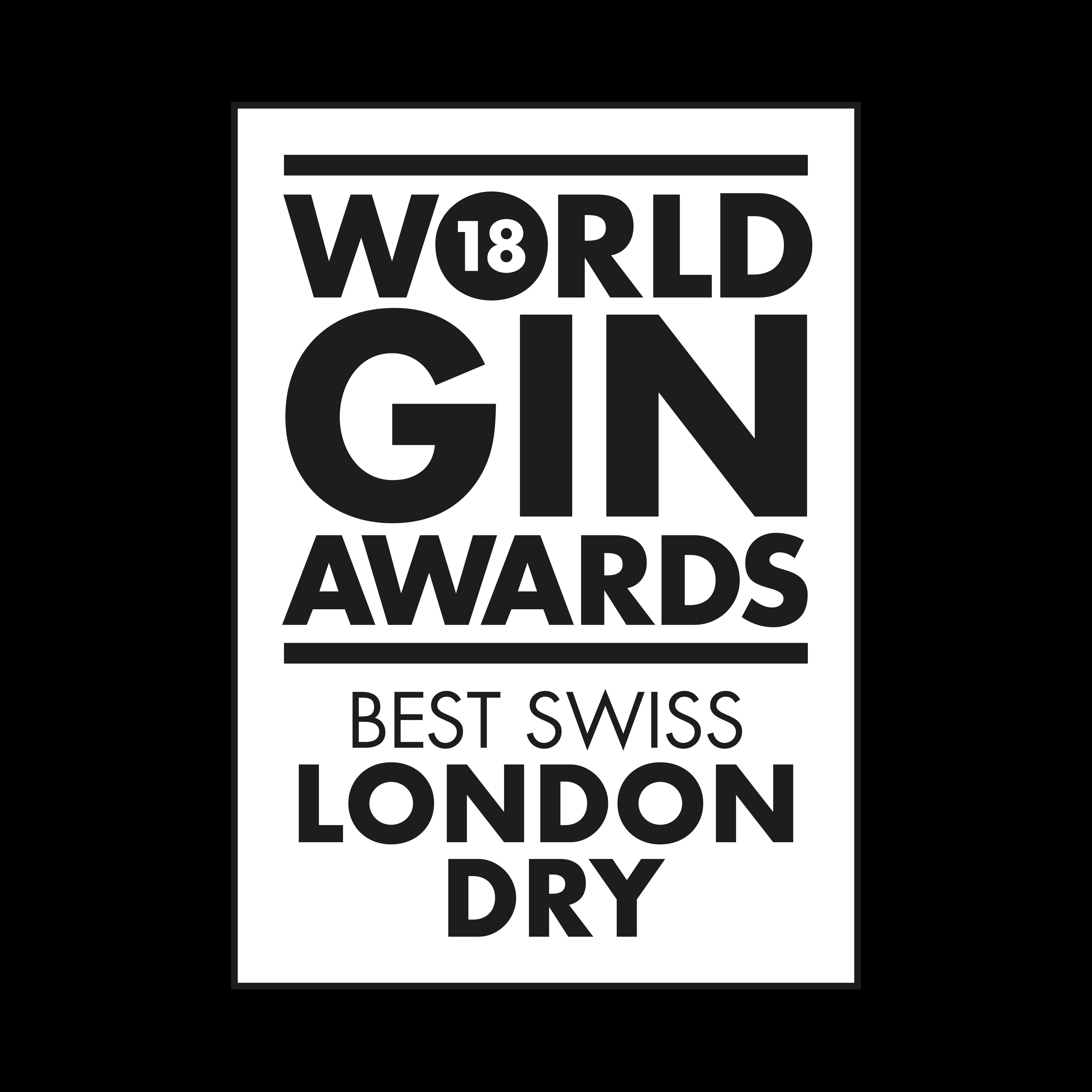 Edelwhite Gin Award
