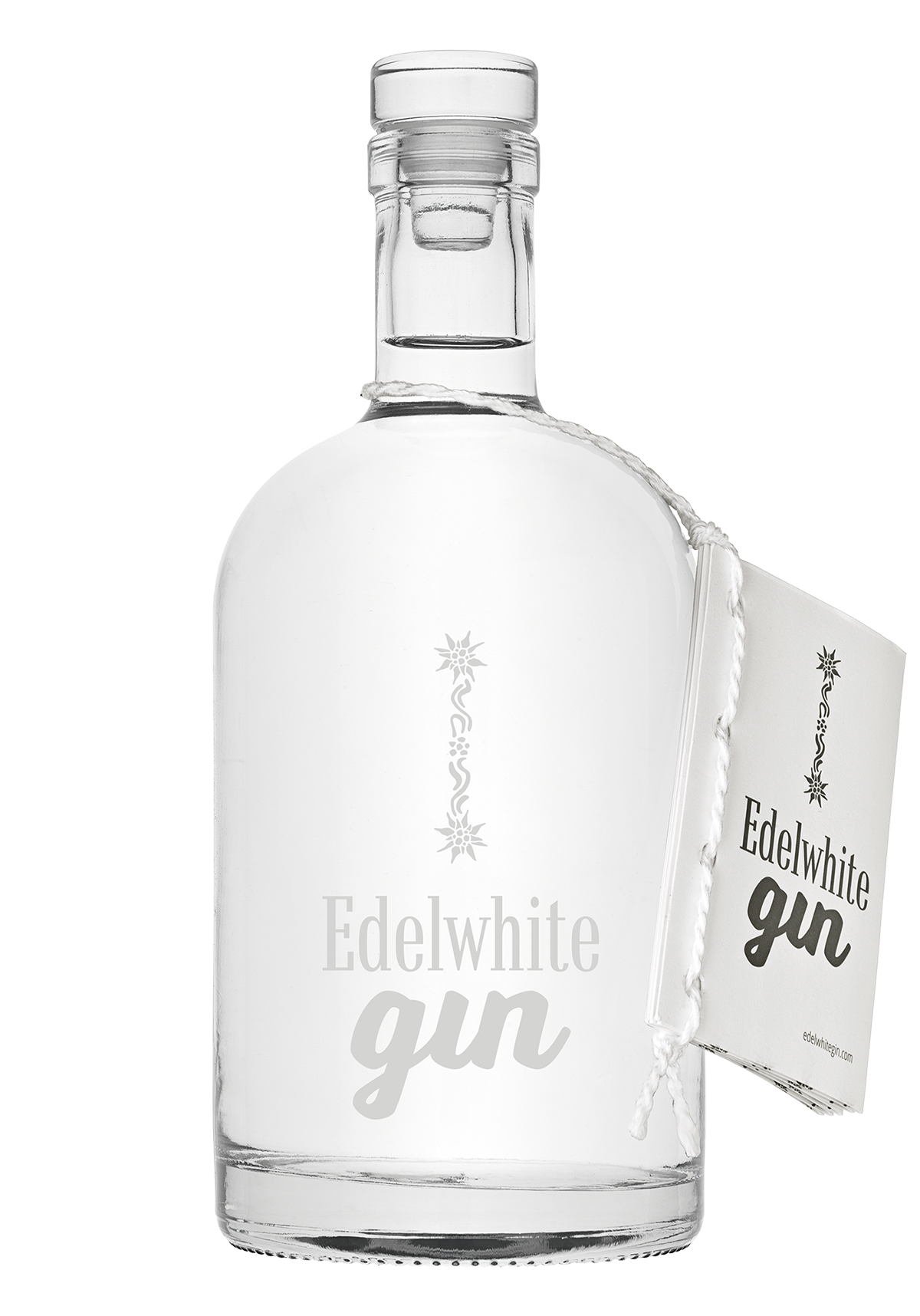 Edelwhite Gin Flasche